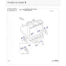 Режущая кромка ковша правая 2713-1059