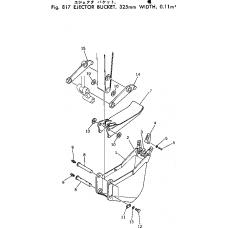 Адаптер ковша 201-70-24130