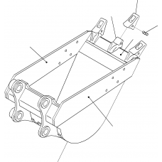 Адаптер ковша 206-939-5120