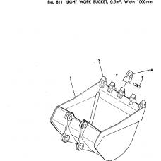 Адаптер ковша 202-70-12140