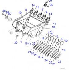Адаптер ковша 21N-70-37711