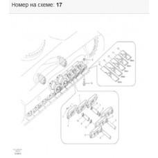 Болт крепления башмака 14532465