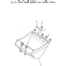 Адаптер ковша 208-70-14143