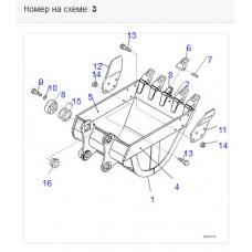 Адаптер ковша 20Y-939-1180