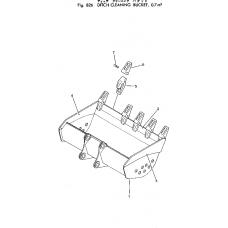 Адаптер ковша 205-70-68141