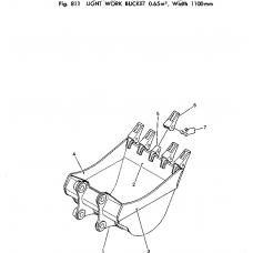Адаптер ковша 21K-70-14122