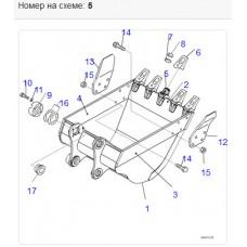 Адаптер ковша 20Y-70-24210