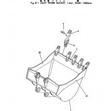 Адаптер ковша 207-70-14142