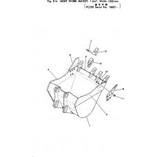 Адаптер ковша 206-70-48120